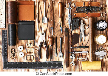 ferramentas, crafting, couro