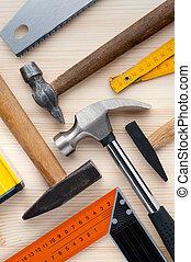 ferramentas, fundo