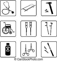 ferramentas médicas