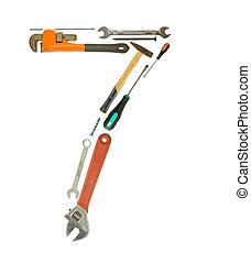 ferramentas, número