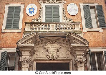 Ferrara architecture detail 2