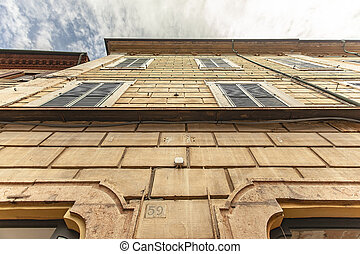 Ferrara architecture detail 3