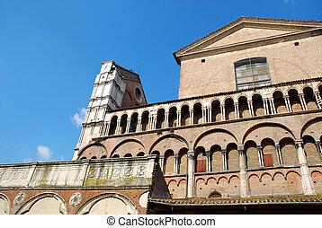Ferrara Cathedral (side view) - Ferrara - Italy
