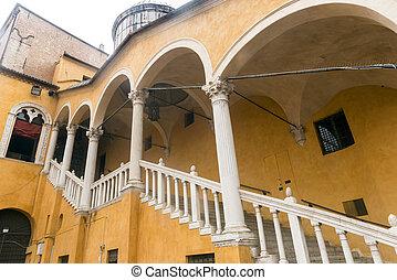 Ferrara (Italy) - Ferrara (Emilia-Romagna, Italy): historic...