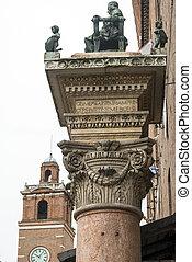 Ferrara (Italy) - Ferrara (Emilia-Romagna, Italy): medieval...