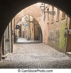 Ferrara (Italy) - Ferrara (Emilia-Romagna, Italy): typical...