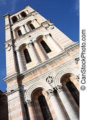 Ferrara - Unfinished bell tower of Romanesque Ferrara...