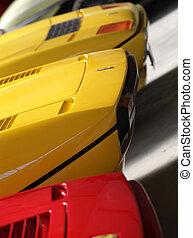 Ferrari, Trois
