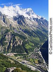 Ferret Valley, Courmayeur