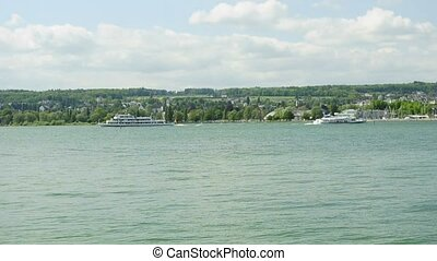 ferries at lake Bodensee Germany