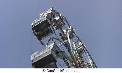Ferris Wheel - A ferris wheel ride at a local carnival...