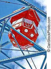 Ferris wheel against