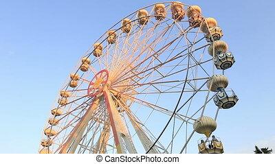 Ferris Wheel at amusement park