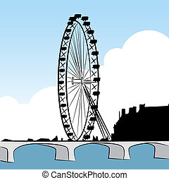 Ferris Wheel Drawing