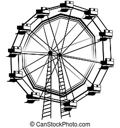 Ferris Wheel - An image of a ferris wheel.