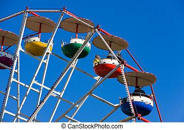 Ferris wheel on a Market