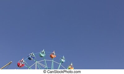 Ferris wheel fun for children and adults