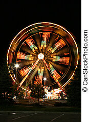 Ferris Wheel in the Dark