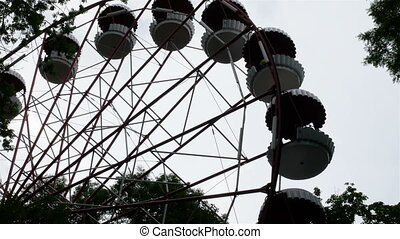 Ferris wheel in the park