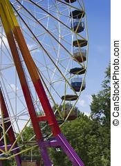 Ferris wheel in the park