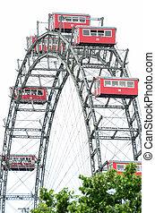 Ferris Wheel in Vienna Austria - Prater park