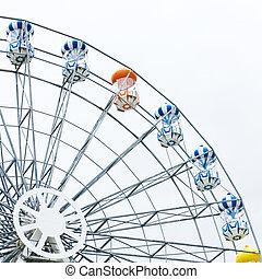 ferris, wheel.