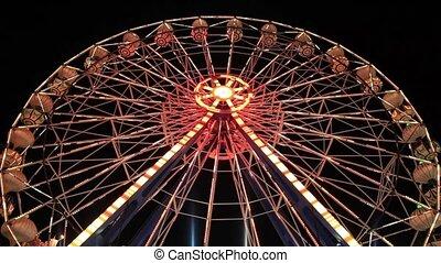 Ferris Wheel - Ferris wheel at amusement park