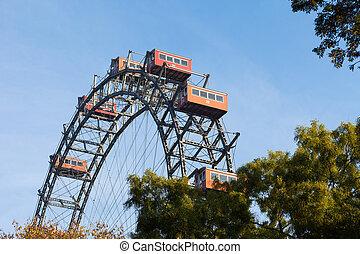 Ferris wheel, Vienna