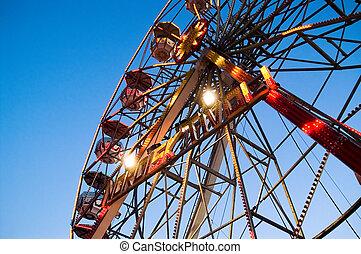 Tivoli ferriswheel closeup