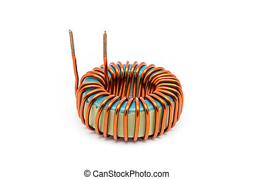 Ferrite Toroid Inductor for Switching Power Supply.