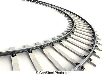 ferrocarril, aislado