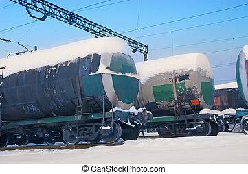 ferrocarril, tanque