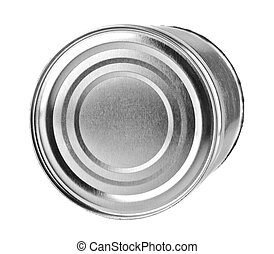 ferrous canning jar isolated on a white background