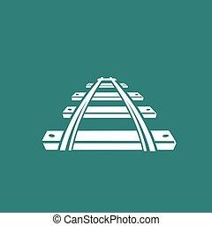 ferrovia, ícone