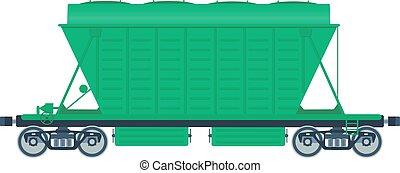 ferrovia, automobile., nolo