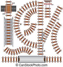 ferrovia, elementos