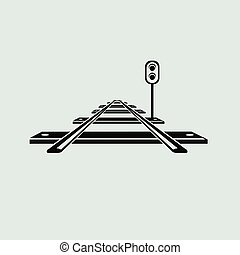 ferrovia, icona
