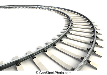 ferrovia, isolato
