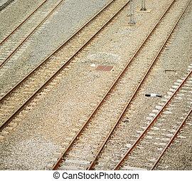 ferrovia, piste