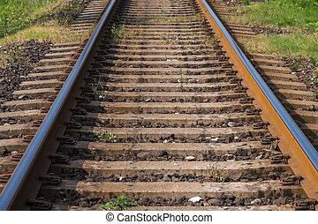 ferrovia, trasporto, distanza, va
