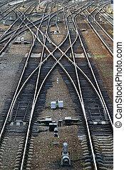 ferroviaire, flèche