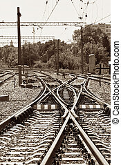 ferroviaire, jonction