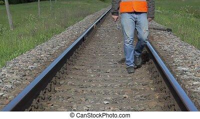 ferroviaire, ouvrier, fonctionnement