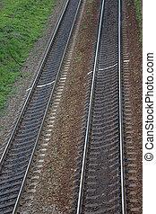 ferroviaire, pistes