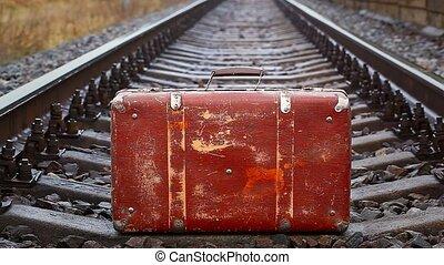 ferroviaire, valise