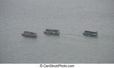 ferry boat at toba lake