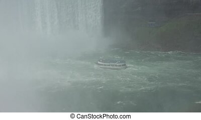 Ferry Boat at Water Falls