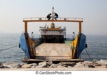 Ferry Boat Istanbul - a ferry boat in Istanbul, Turkey