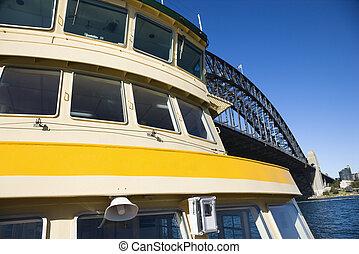ferry-boat, par, bridge.