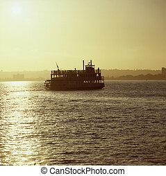 Ferry Boat in San Diego Bay
